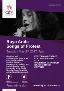 Roya Arab poster